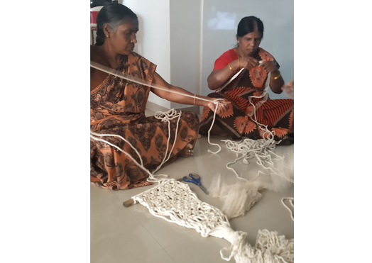 Macrame Training