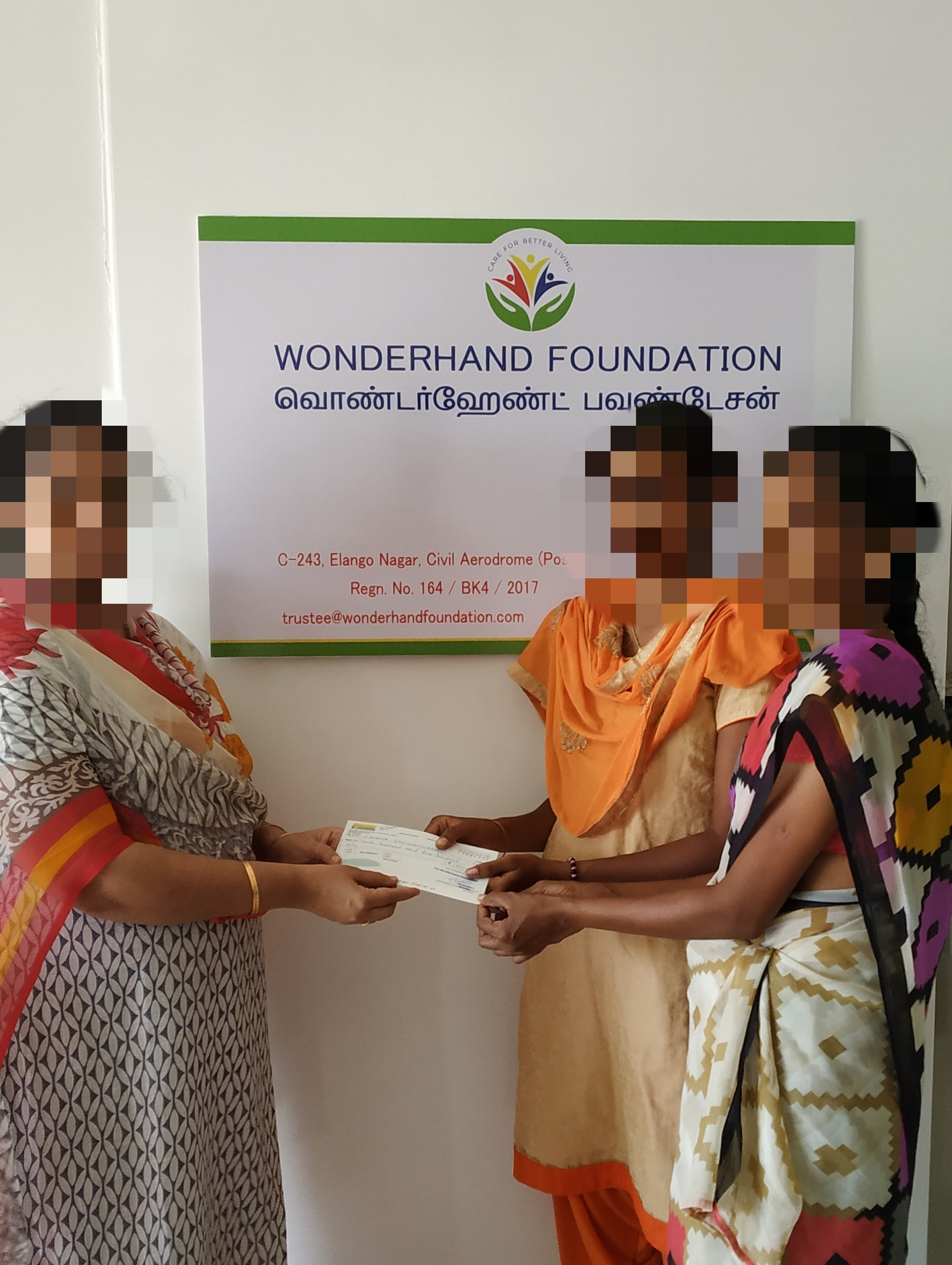 Education Aid to Poor Girl